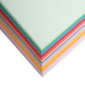 A4 Personalised Mixed Pack Coloured 80GSM Paper - 400 Sheets